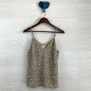 ⚜️ 4/$25 SALE! A New Day Cheetah V Neck Tank
